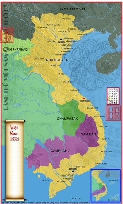 Bản đồ Việt Nam thế kỷ 16
