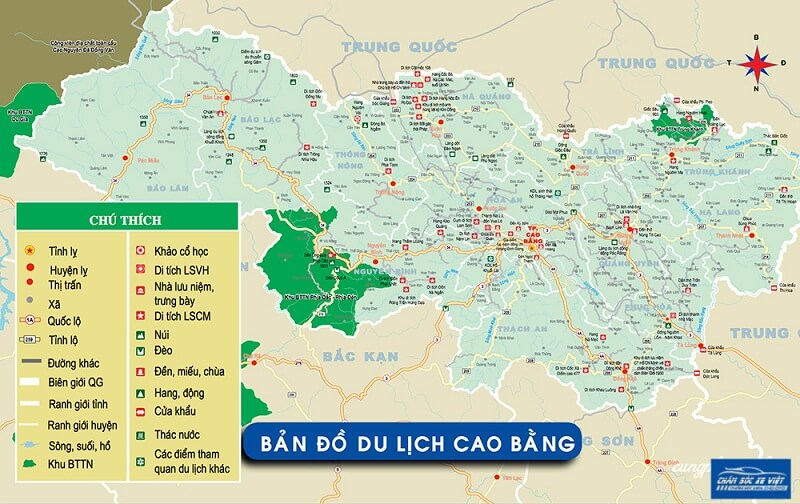 ban do du lich cao bang